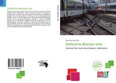 Обложка Oxford to Bicester Line