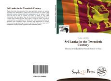 Bookcover of Sri Lanka in the Twentieth Century