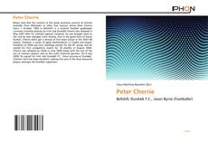 Buchcover von Peter Cherrie