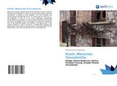 Bookcover of Kaski, Masovian Voivodeship