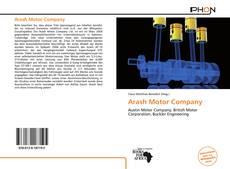 Capa do livro de Arash Motor Company