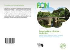 Bookcover of Franciszków, Gmina Jasieniec