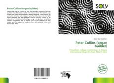 Buchcover von Peter Collins (organ builder)