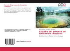Bookcover of Estudio del proceso de lixiviación intensiva