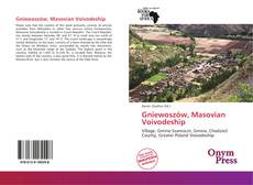 Portada del libro de Gniewoszów, Masovian Voivodeship