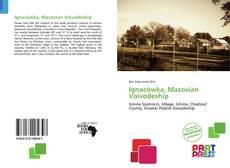 Portada del libro de Ignacówka, Masovian Voivodeship