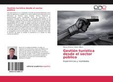 Buchcover von Gestión turística desde el sector público