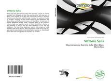 Capa do livro de Vittorio Sella