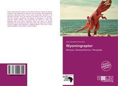 Copertina di Wyomingraptor