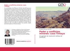 Portada del libro de Poder y conflictos mineros: caso Tintaya
