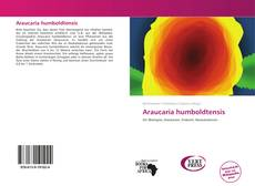 Bookcover of Araucaria humboldtensis
