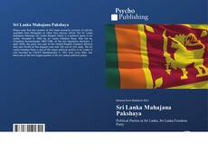 Bookcover of Sri Lanka Mahajana Pakshaya