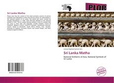 Bookcover of Sri Lanka Matha