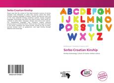 Bookcover of Serbo-Croatian Kinship