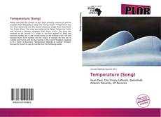 Bookcover of Temperature (Song)