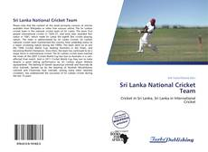 Bookcover of Sri Lanka National Cricket Team