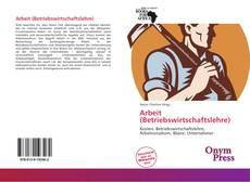 Capa do livro de Arbeit (Betriebswirtschaftslehre)