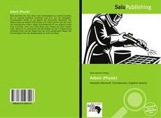 Bookcover of Arbeit (Physik)