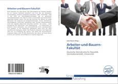 Capa do livro de Arbeiter-und-Bauern-Fakultät