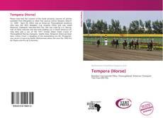 Portada del libro de Tempera (Horse)