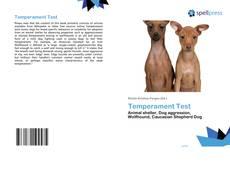 Bookcover of Temperament Test