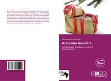 Buchcover von Araucaria muelleri