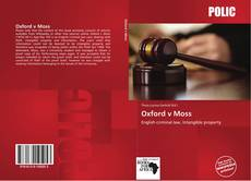 Capa do livro de Oxford v Moss