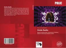 Portada del libro de Oxide Radio