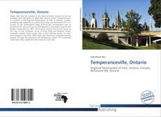 Copertina di Temperanceville, Ontario