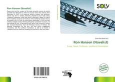 Bookcover of Ron Hansen (Novelist)