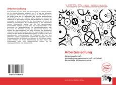 Portada del libro de Arbeitersiedlung