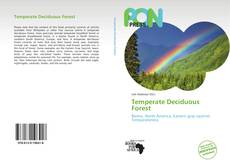 Bookcover of Temperate Deciduous Forest