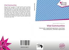 Vital Communities kitap kapağı