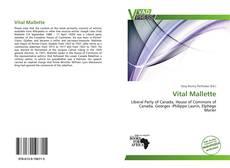 Buchcover von Vital Mallette
