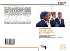 Capa do livro de Arbeitnehmer-Entsendegesetz