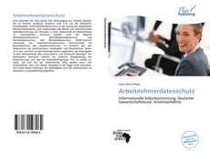 Capa do livro de Arbeitnehmerdatenschutz