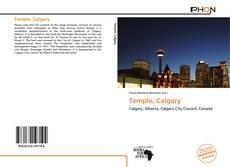 Buchcover von Temple, Calgary