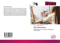 Portada del libro de Ron Kleemann