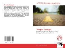 Capa do livro de Temple, Georgia