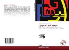 Buchcover von Uyghur Latin Script
