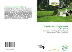 Capa do livro de Gąsiorowo, Legionowo County
