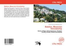 Buchcover von Babilon, Masovian Voivodeship