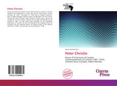 Bookcover of Peter Christie