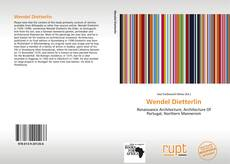 Bookcover of Wendel Dietterlin