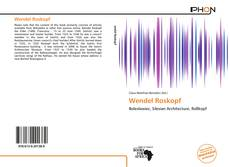 Bookcover of Wendel Roskopf
