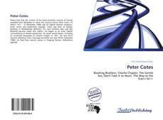 Portada del libro de Peter Cotes