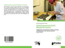 Arbeitsgemeinschaft Moderne Küche kitap kapağı