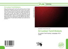 Bookcover of Sri Lankan Tamil Dialects