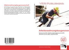 Arbeiterwohnungsbaugenossenschaft kitap kapağı