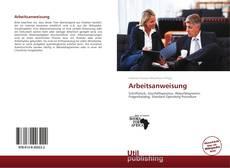 Arbeitsanweisung kitap kapağı